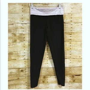 VICTORIA PINK Yoga Fold Over Leggings